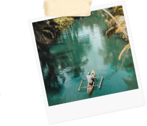 river fishing culture canoe travel vacation