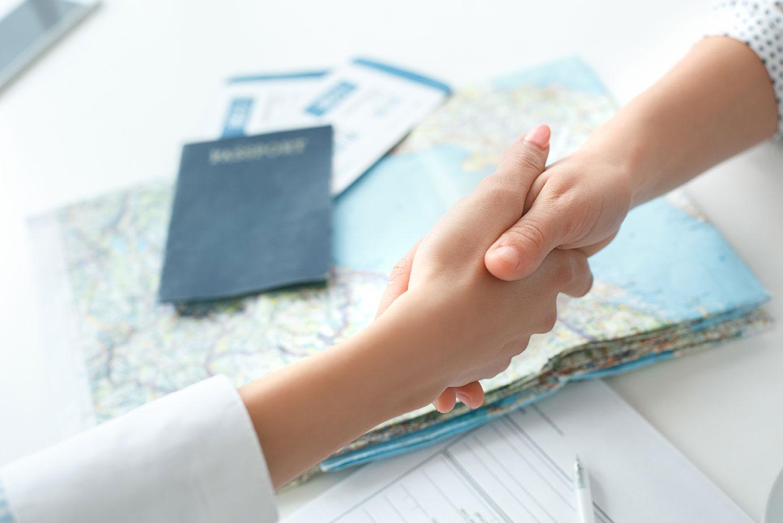 passport international travel vacation family group
